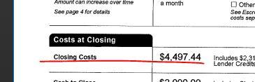 рефінансування витрати