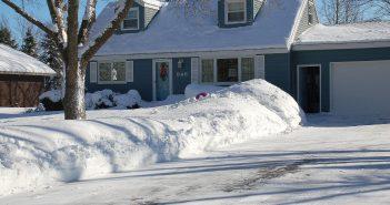 сніг в америці